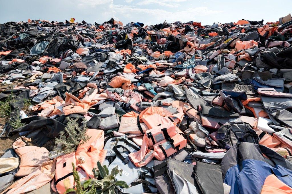 Lifejacket graveyard 1